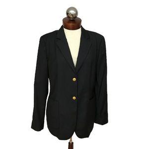 LORO PIANA Brooks Brothers 2 button blazer 12